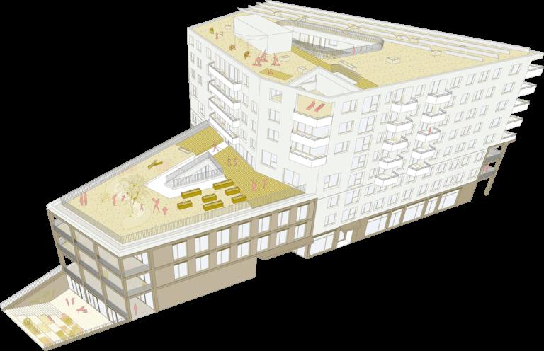 Gebäude der HausWirtschaft
