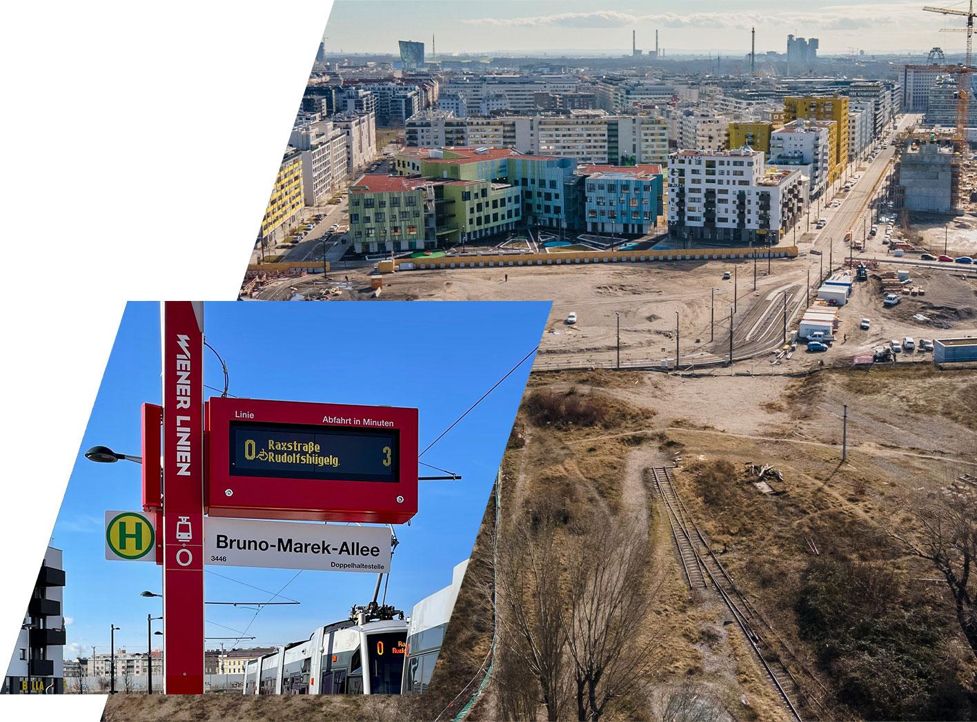 Nordbahnviertel - Bruno-Marek-Allee