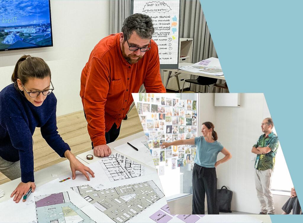 Workshop-Räume und Meetings