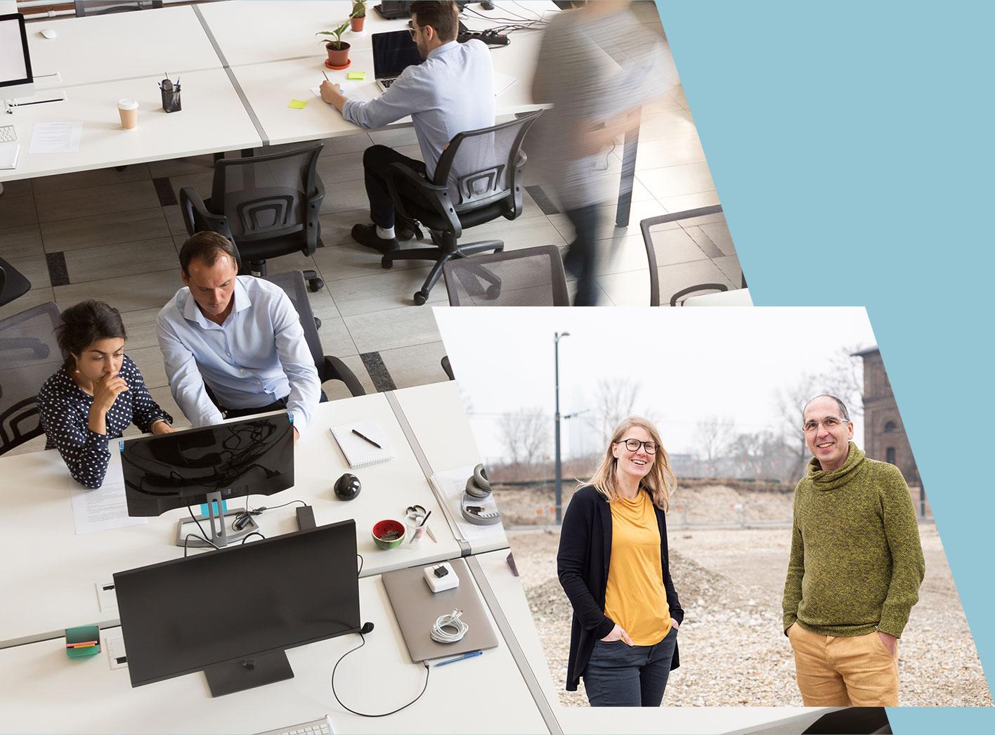Coworking und Büros für Teams